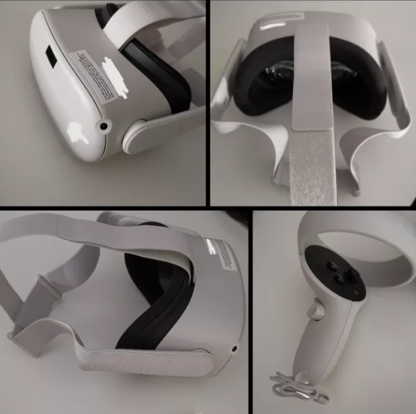 Leaked images of the new Oculus Quest