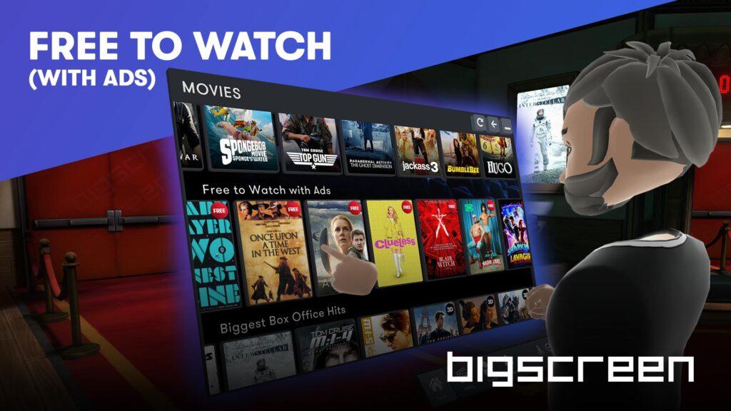 Bigscreen TV Free Movies