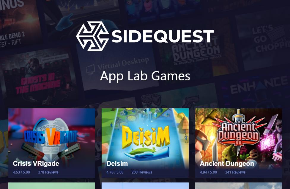 App Lab Games Directory