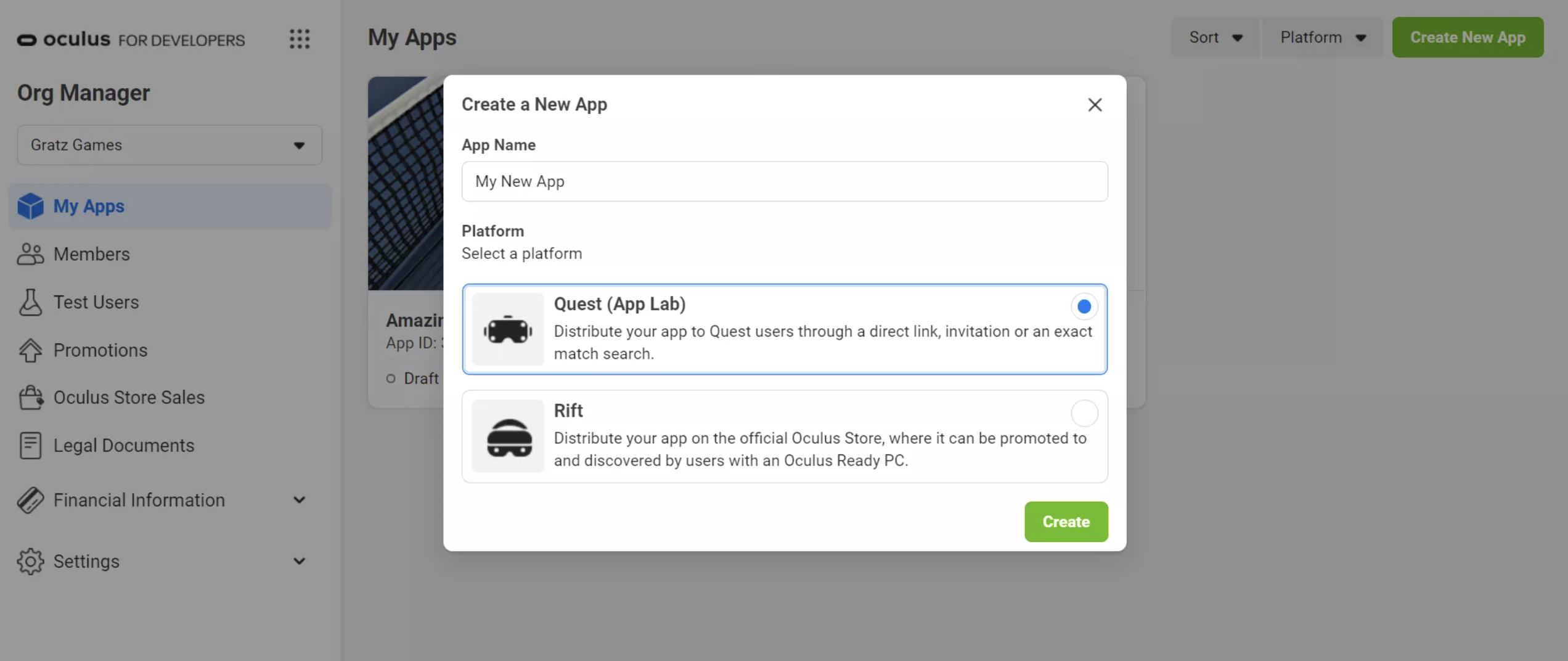 How to Submit an App Lab App