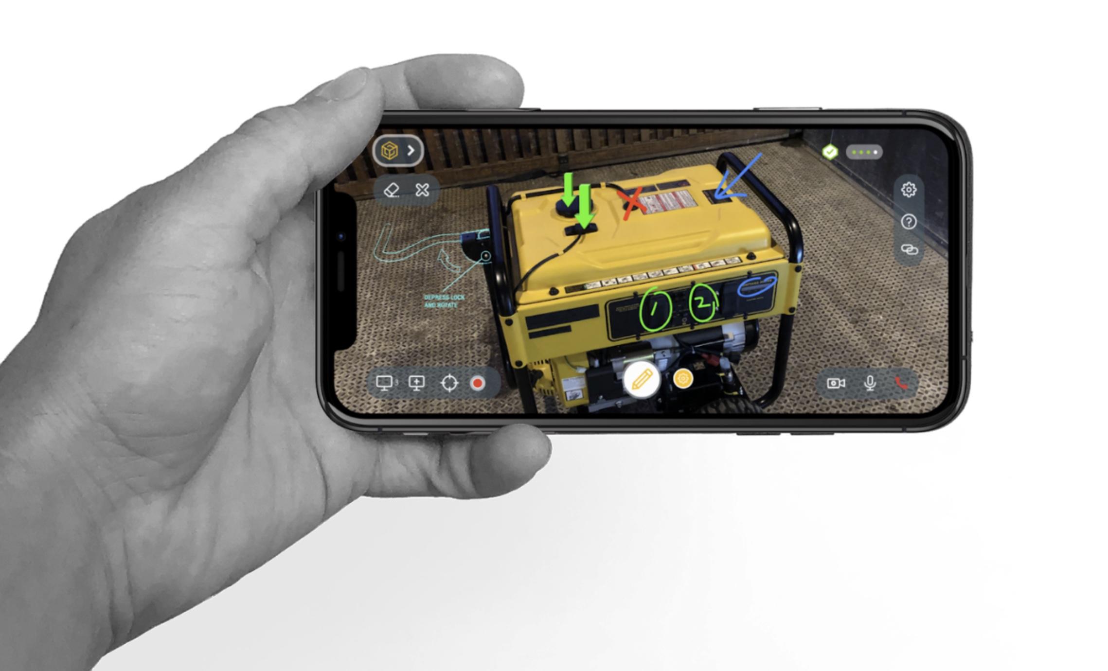 Scope AR on mobile