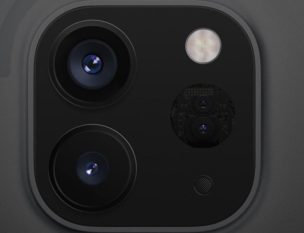 Apple iPad Pro LiDAR scanner
