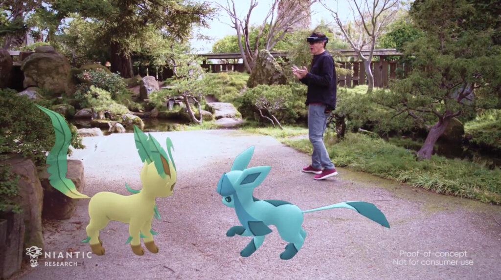 Pokemon Go HoloLens 2